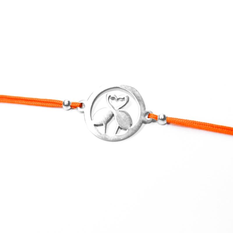 """Armband """"Flamingo-Liebe"""""""