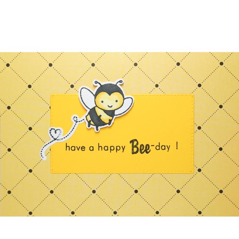 "Karte ""Happy Bee-Day"""