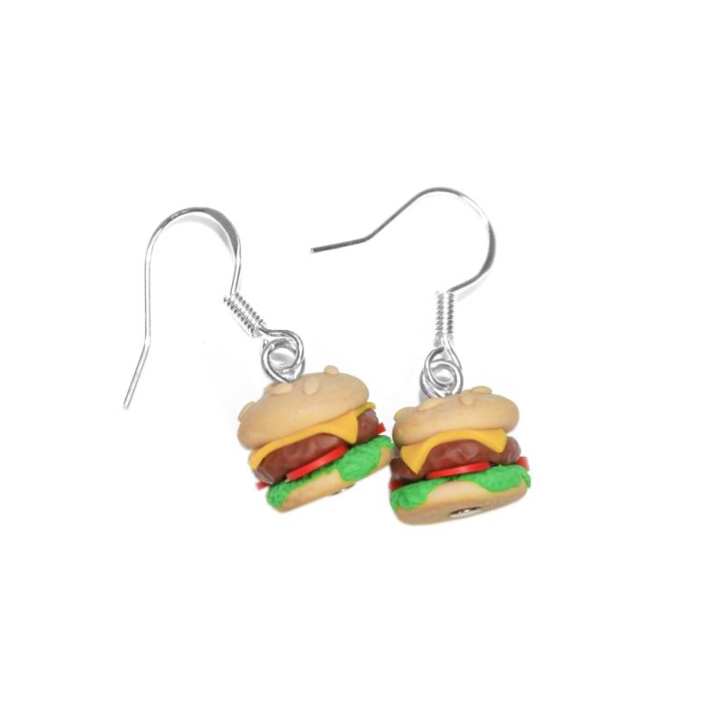"""Ohrringe """"Burger"""""""