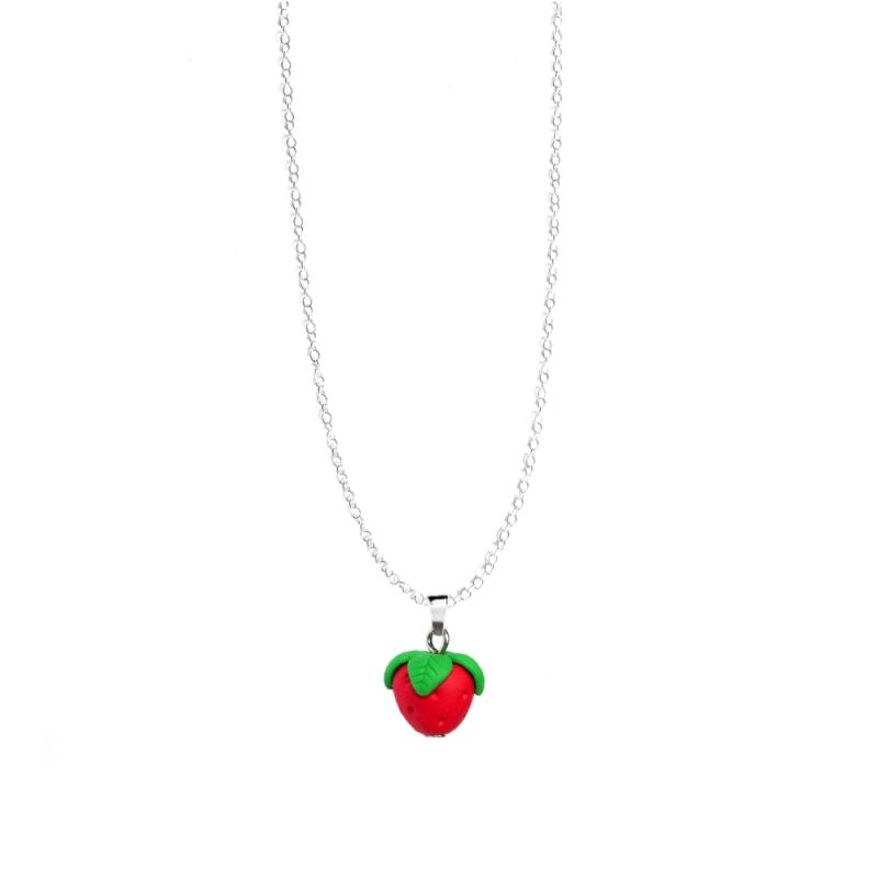 "Halskette ""Erdbeere"""