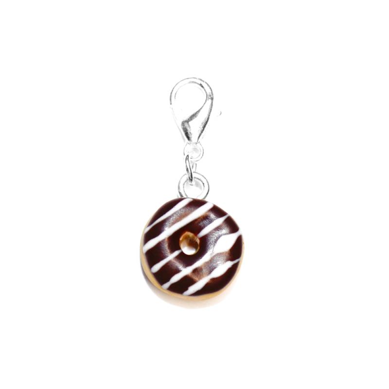 "Anhänger ""Schoko-Donut"""