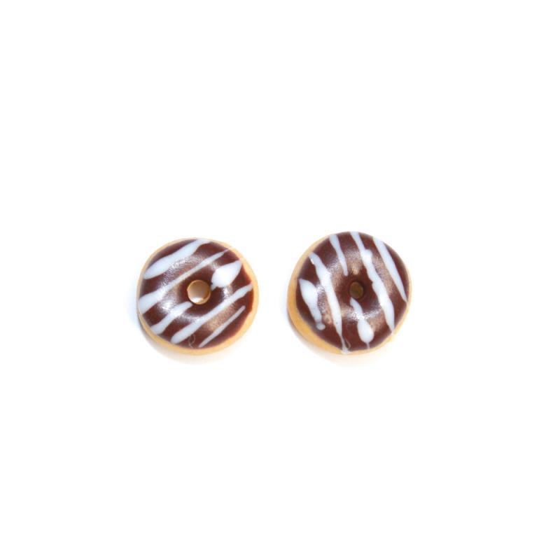 "Ohrstecker ""Schoko-Donuts"""