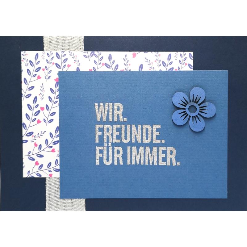 """Karte """"Freunde für immer"""""""