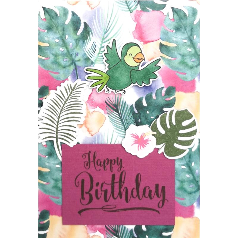 """Karte """"Happy Birthday vom..."""