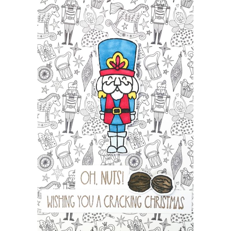 """Karte """"A Cracking Christmas"""""""