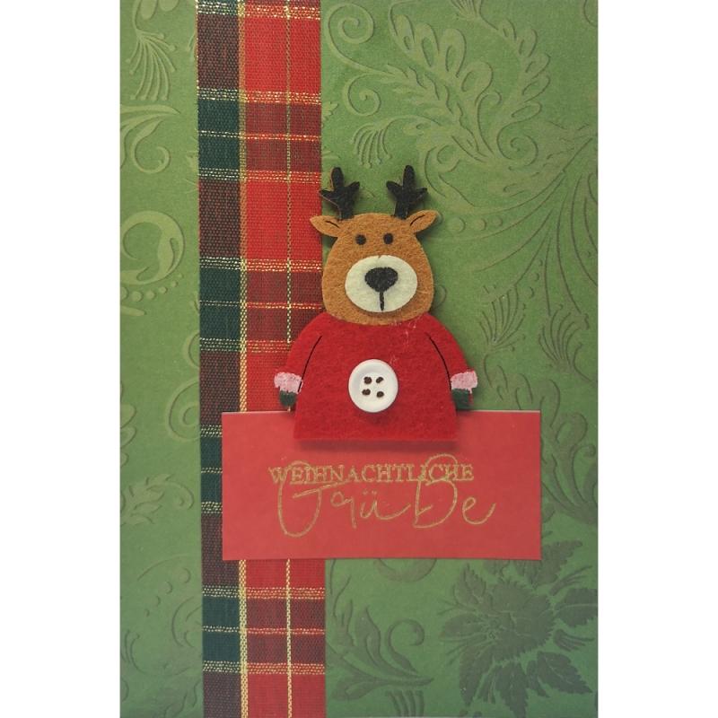 """Karte """"Weihnachtliche Grüße"""""""