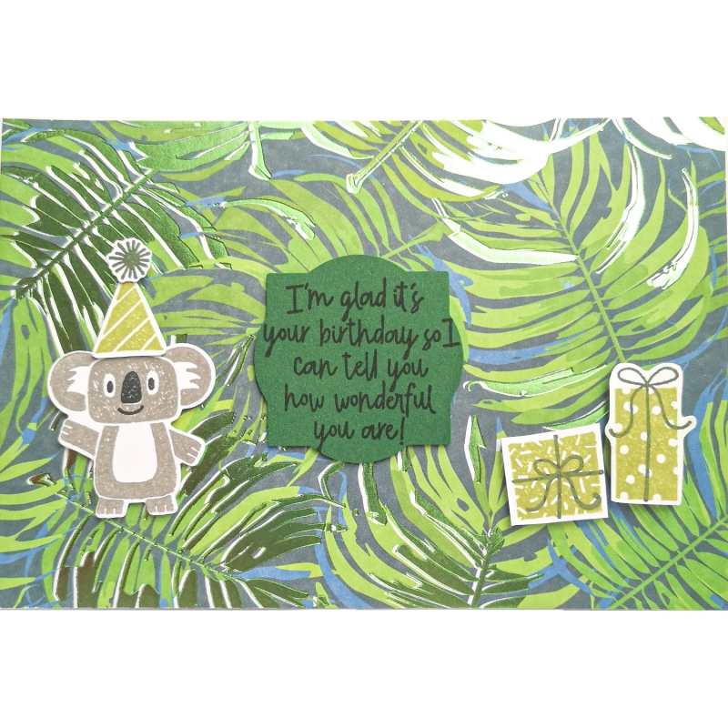"Karte ""Geburtstags-Koala"""
