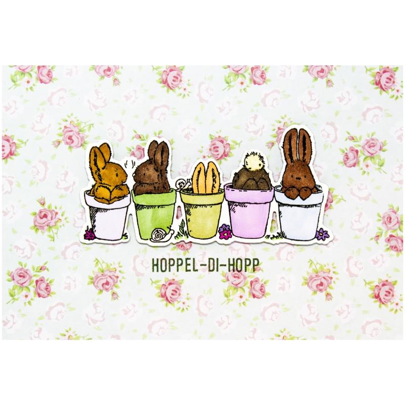 "Karte ""Hoppel-Di-Hopp"""
