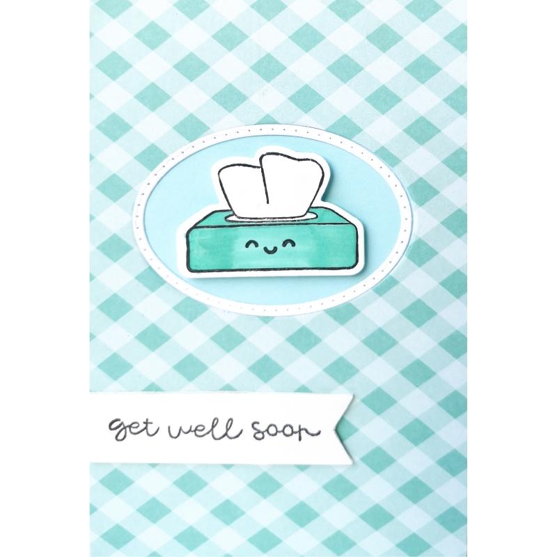 """Karte """"Get well soon"""""""