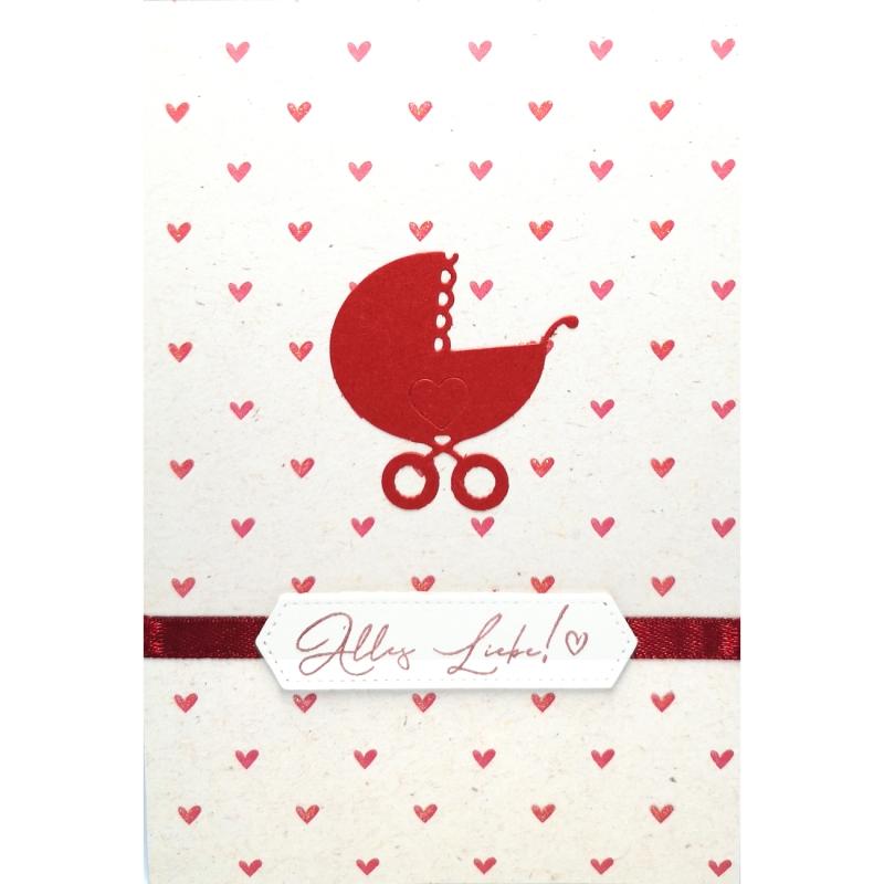 "Karte ""Alles Liebe!"""