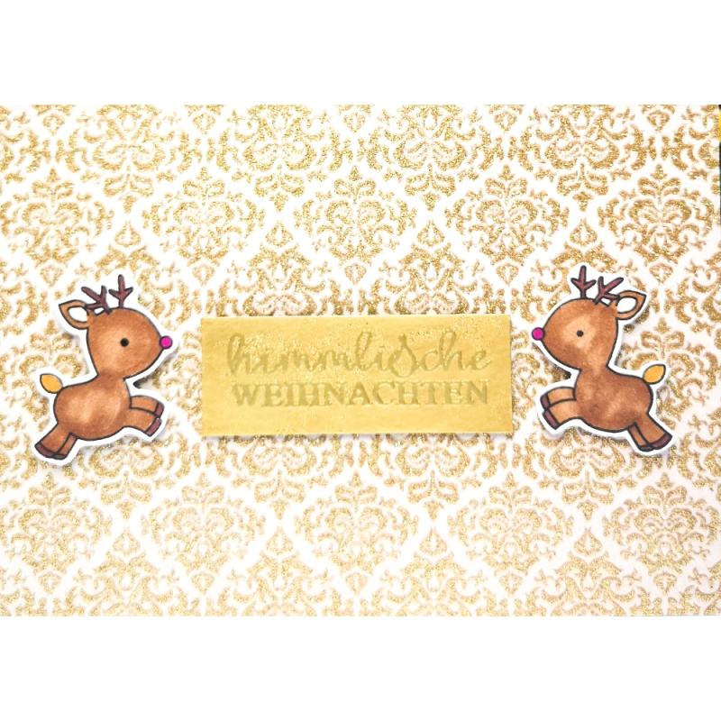 """Karte """"Himmlische Weihnachten"""""""