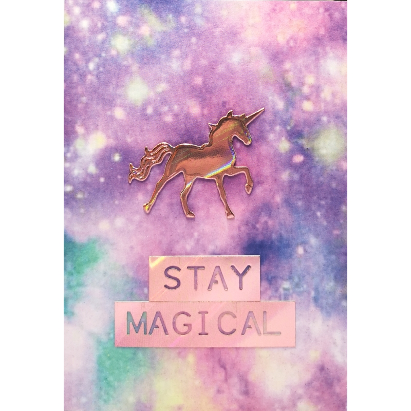 "Karte ""Stay magical"""