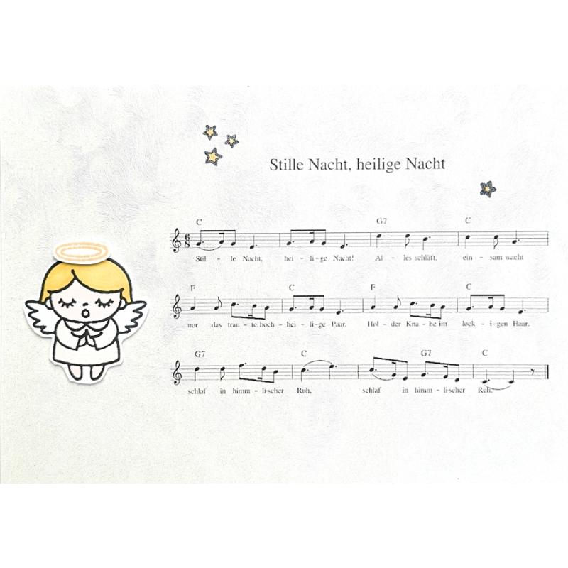 """Karte """"Stille Nacht"""""""