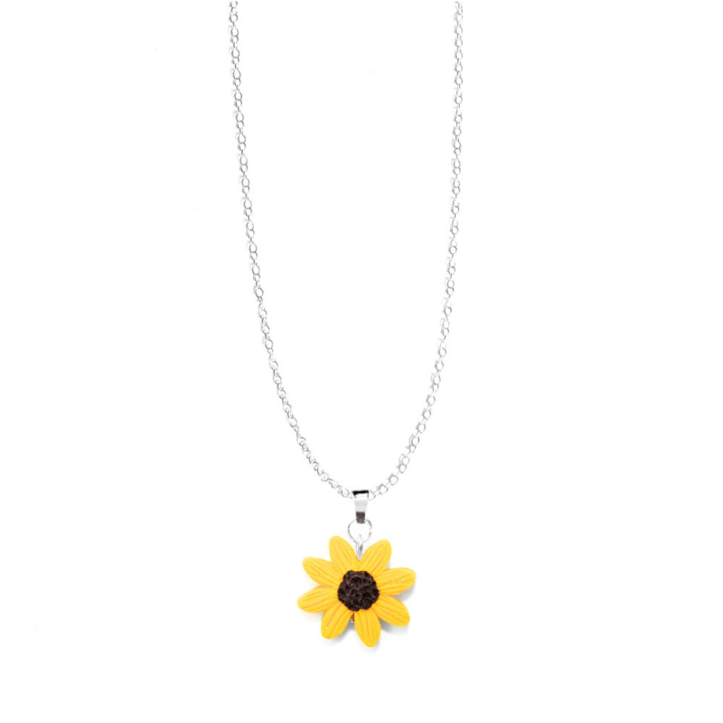 "Halskette ""Sonnenblume"""